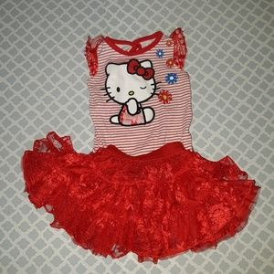 Hello kitty 6/9m outfit